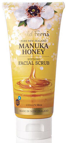 Wild Ferns Manuka Honey Refining Facial Scrub 100ml