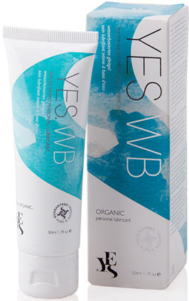 Yes Water Organic Personal Lubricant 50ml