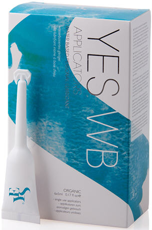 YES WB Water Based Personal Lubricant Pre-Filled Applicators 6 Pack