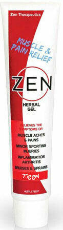 Zen Herbal Joint and Muscle Pain Relief Gel 75g