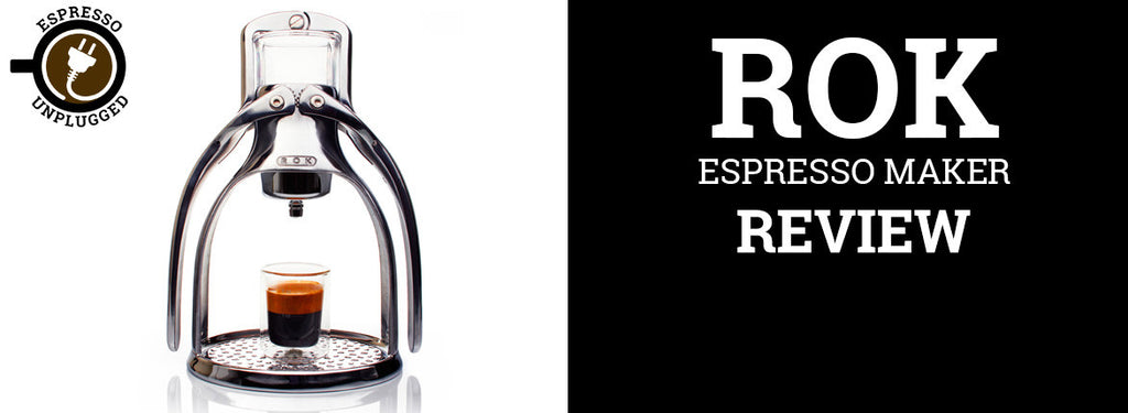 Rok Coffee Maker Nz : ROK Review by Josh Munro Espresso Unplugged Australia