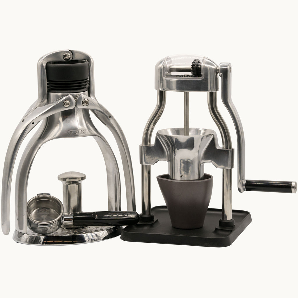 ROK Espresso Maker GC and ROK Coffee Grinder GC Bundle