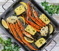 Baked Snow Crab Legs; by Belqui's Twist