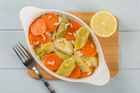 Hiç Recipes - Turkish Leeks and Carrots in Olive Oil