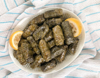 Stuffed Grape Leaves; by Heart Healthy Greek