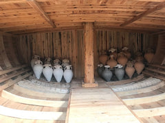 Urla, Turkey olive oil amphora