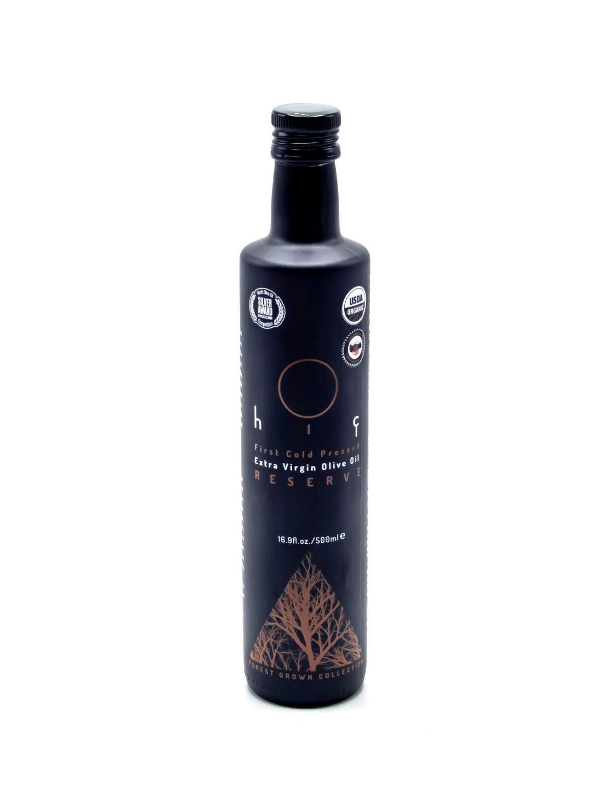 HIÇ ORGANIC First Cold Pressed - RESERVE - Extra Virgin Olive Oil - Forest Grown 500ml/16.9 Fl.Oz