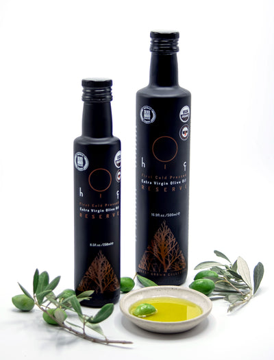 HIÇ ORGANIC First Cold Pressed - RESERVE - Extra Virgin Olive Oil - Forest Grown 250ml/8.5Fl.Oz.