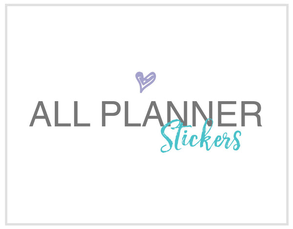 ALL PLANNER STICKERS