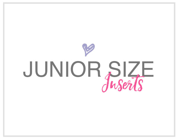 JUNIOR SIZE INSERTS
