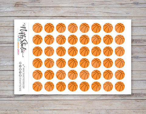 Basketball Planner Stickers (#102)