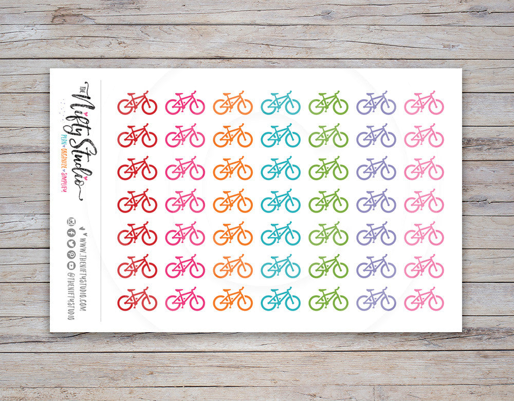 Bicycle Planner Stickers [103]