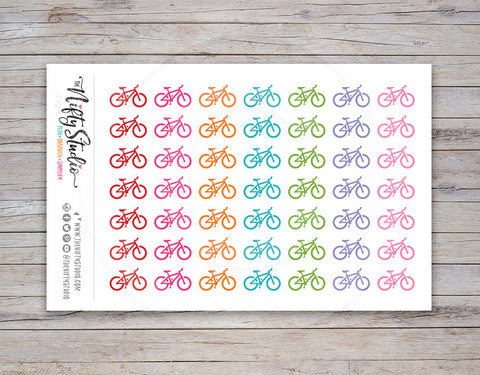 Bicycle Planner Stickers (#103)
