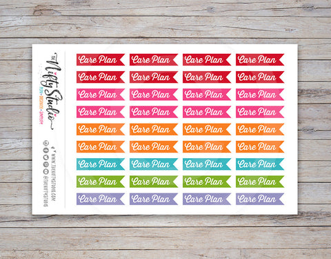 Care Plan Planner Stickers [216]