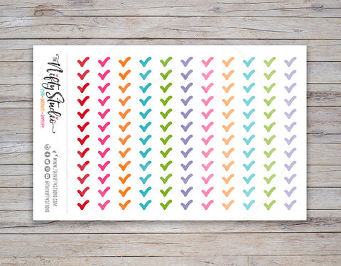 Checkmark Planner Stickers