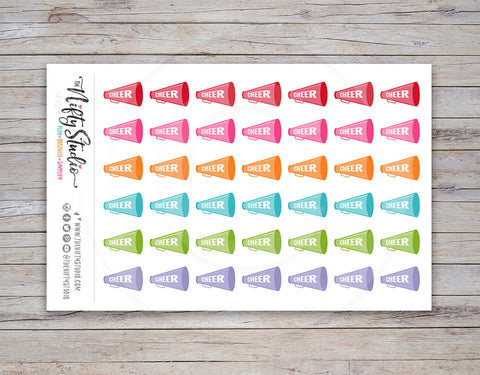 Cheer Planner Stickers (#108)