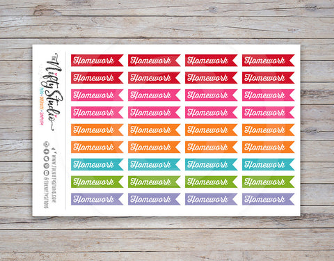 Homework Planner Stickers [210]