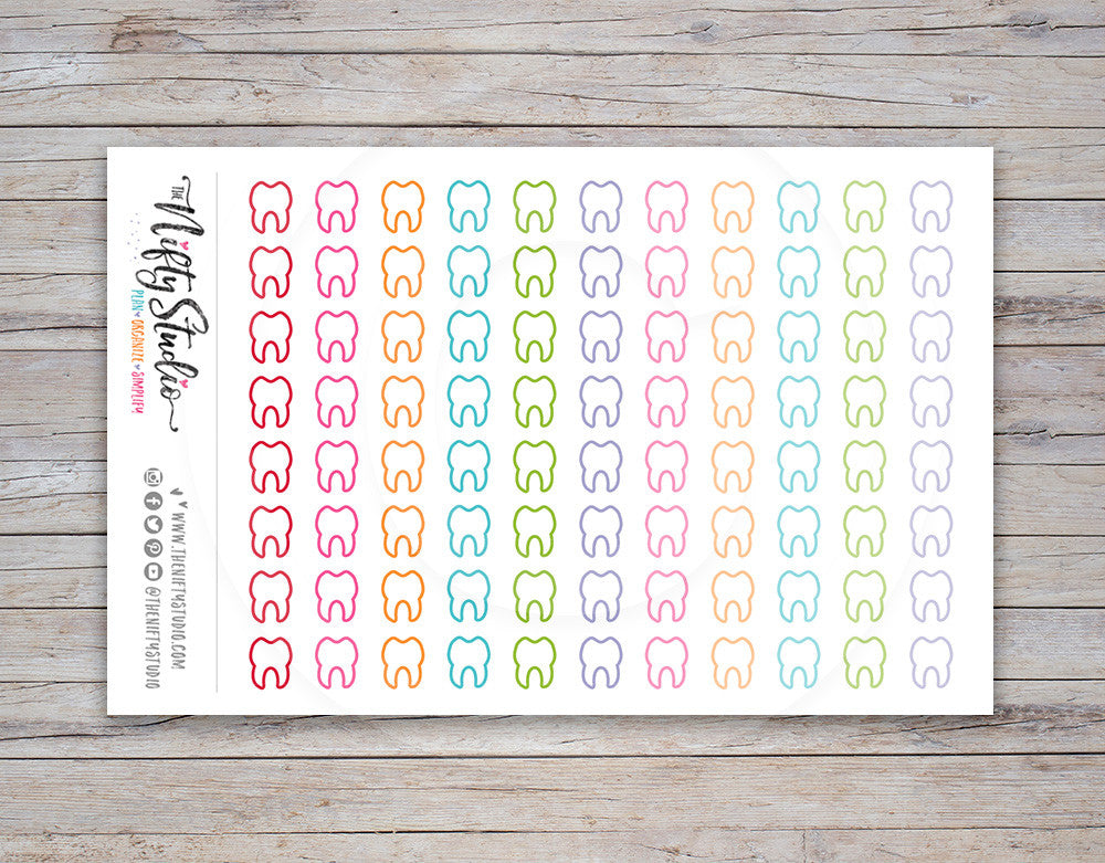 Dentist Planner Stickers [118]