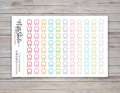 Dentist Planner Stickers (#118)