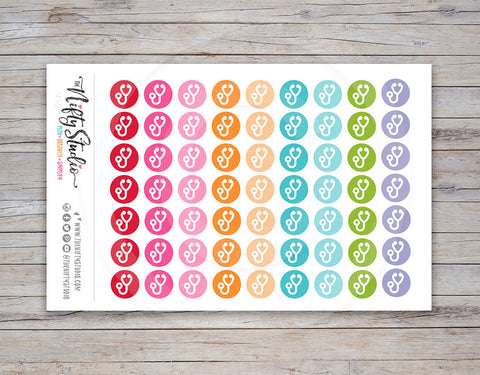 Doctor Planner Stickers (#119)