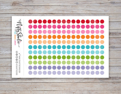 Dots Planner Stickers