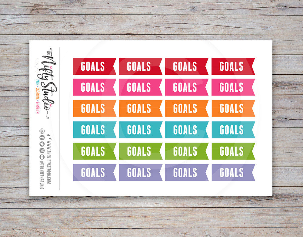 Goals Planner Stickers [142]