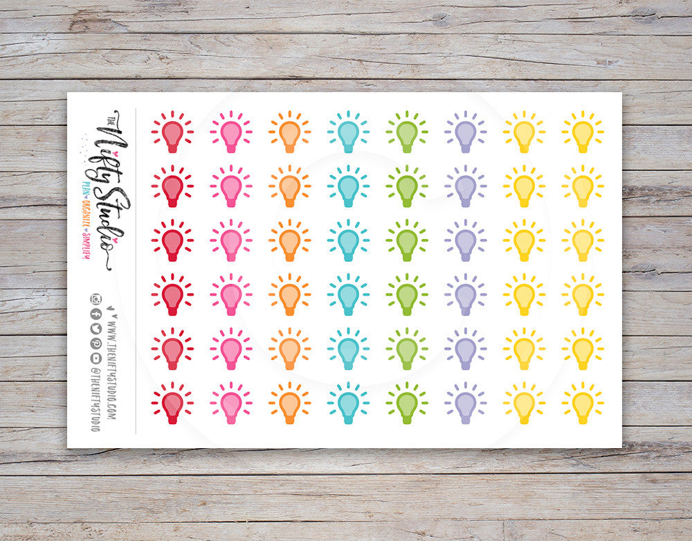Idea Planner Stickers [134]