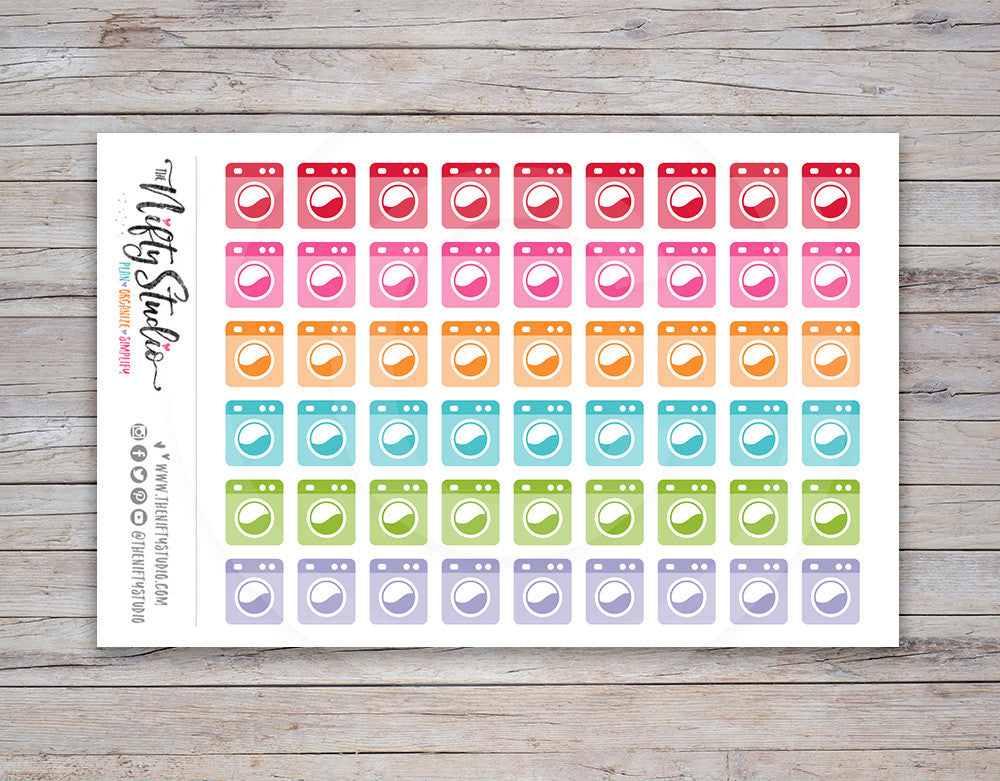 Laundry Planner Stickers [135]