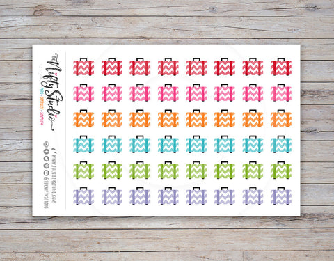 Luggage Planner Stickers [138]
