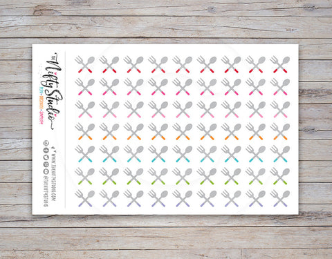 Meal Planning Planner Stickers