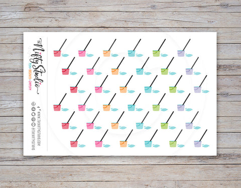 Mop Planner Stickers