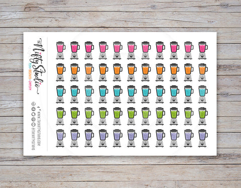 Smoothie Planner Stickers
