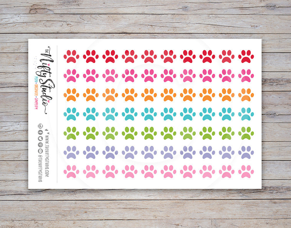 Paws Planner Stickers [146]