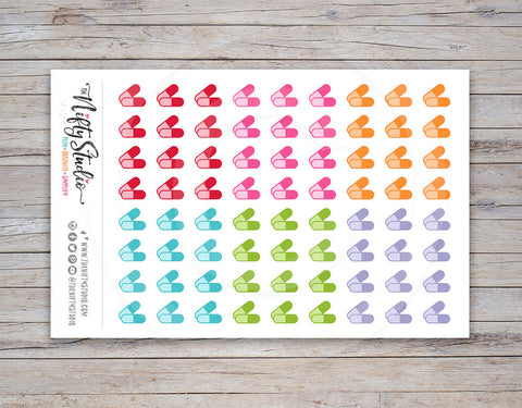 Pills Planner Stickers