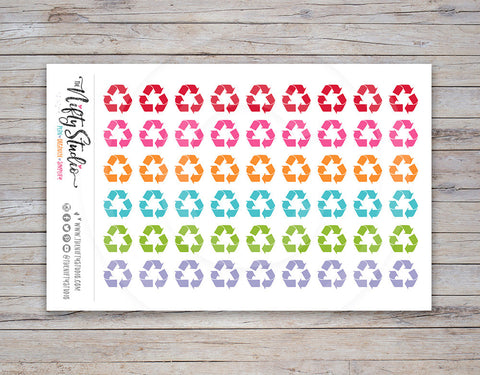 Recycle Planner Stickers [152]