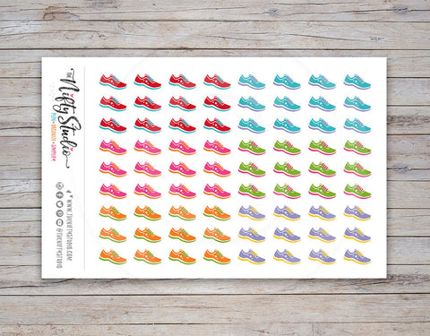 Running / Walking Planner Stickers