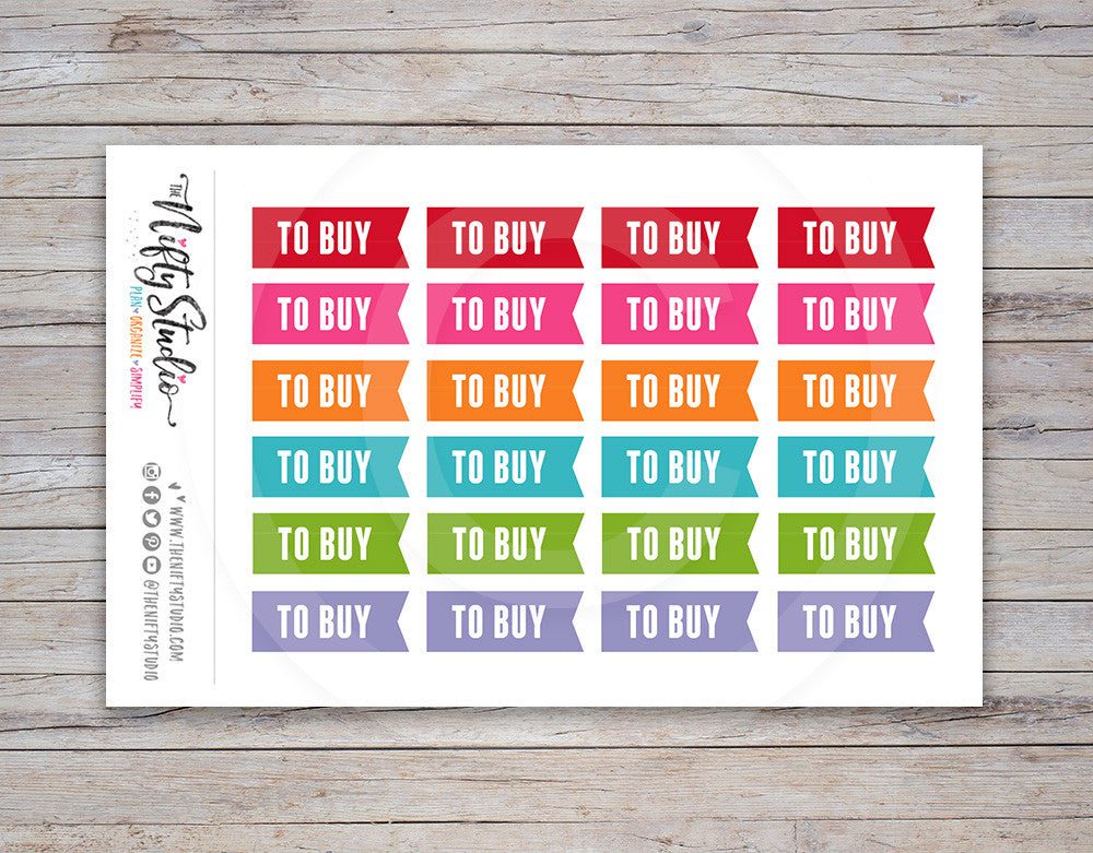 To Buy Planner Stickers [143]