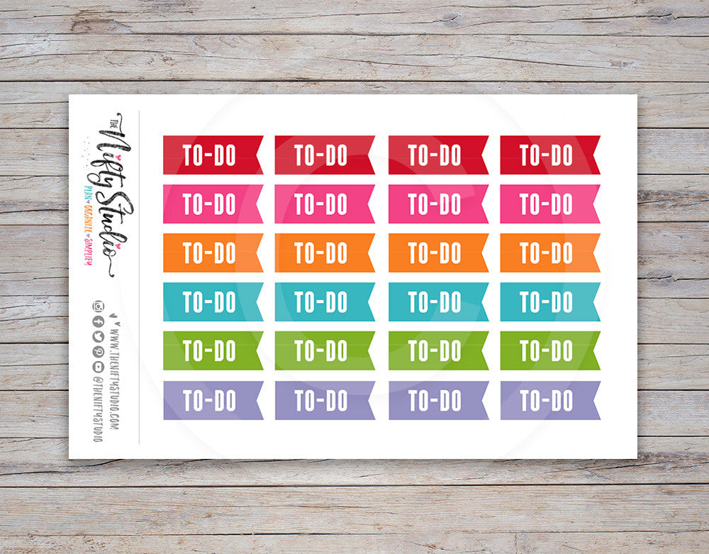 To Do Planner Stickers