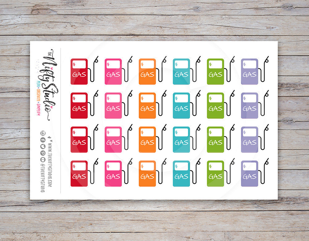 Gasoline Planner Stickers [123]