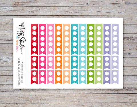 Checkbox Flag Planner Stickers [145]