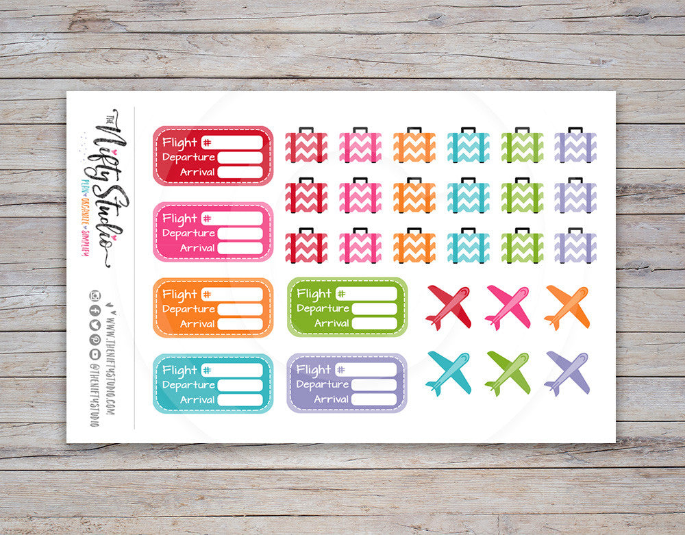 Travel Planner Stickers [167]