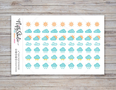 Weather Planner Stickers [168]