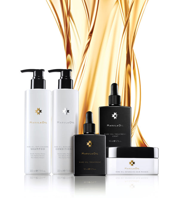 image of the marulaoil product line