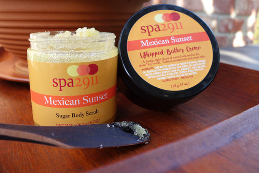 Mexican Sunset Sugar Body Scrub and Whipped Butter Creme
