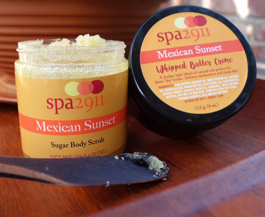 Spa 2911 Mexican Sunset Butter Creme and Body Scrub
