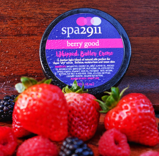 Berry Good Whipped Butter Creme