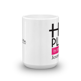 His Plan is my Plan Mug - Fushia - Shop2911