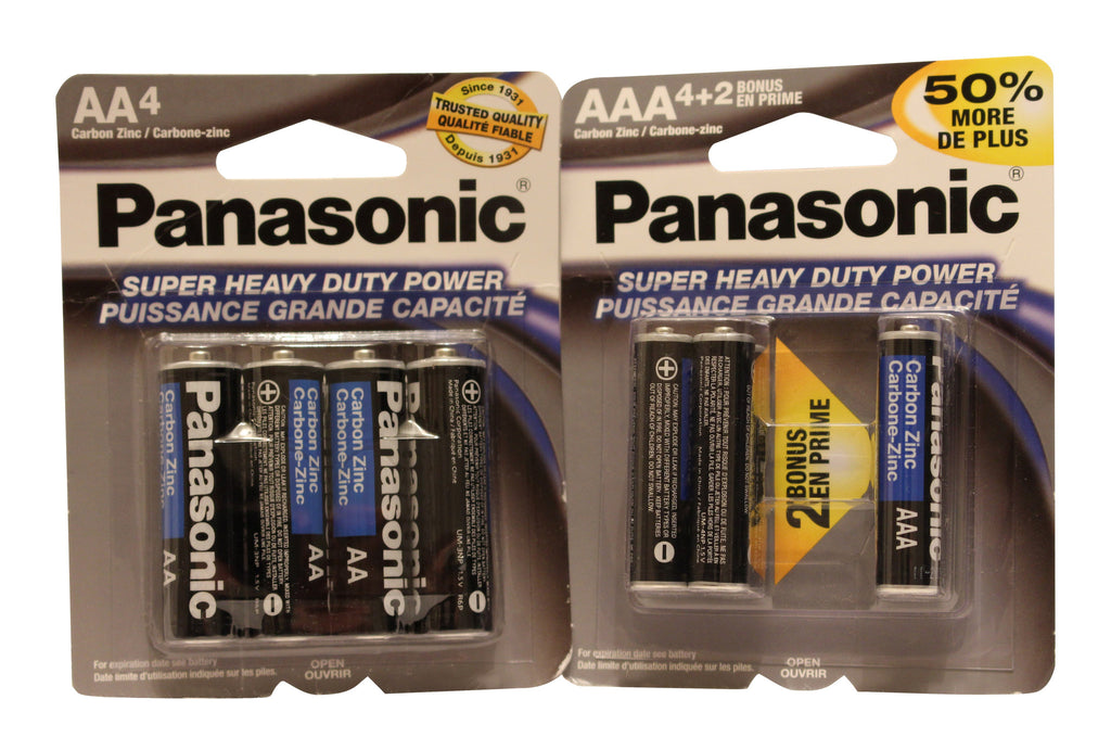Panasonic Super Heavy Duty Batteries