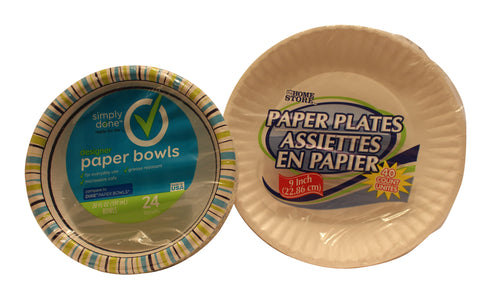 Paper Products for Eating