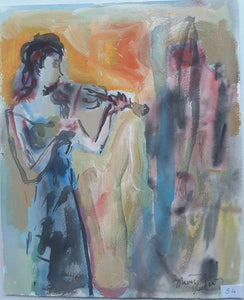 Woman Playing Violin II